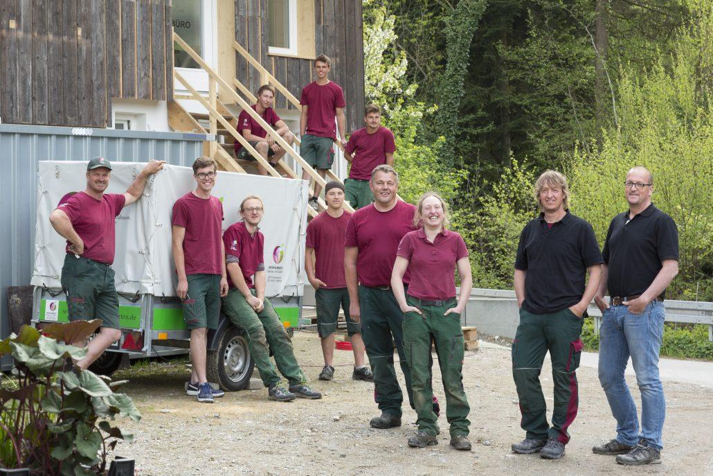 Herrhammer Gärtner von Eden im Allgäu - Unser Team