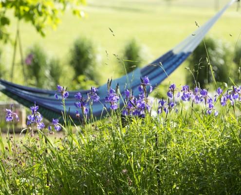 Garten-Entspannung-Haengematte