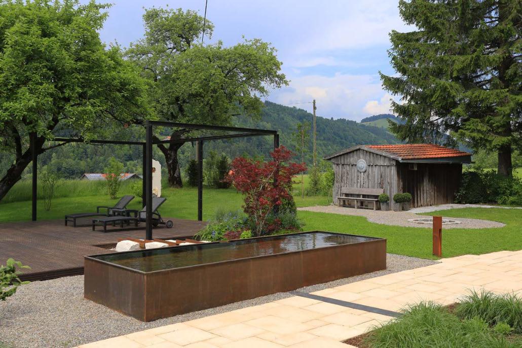gestalten mit holz metall naturstein herrhammer. Black Bedroom Furniture Sets. Home Design Ideas