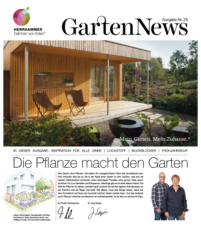 Gärtner von Eden im Allgäu - GartenNews 2017