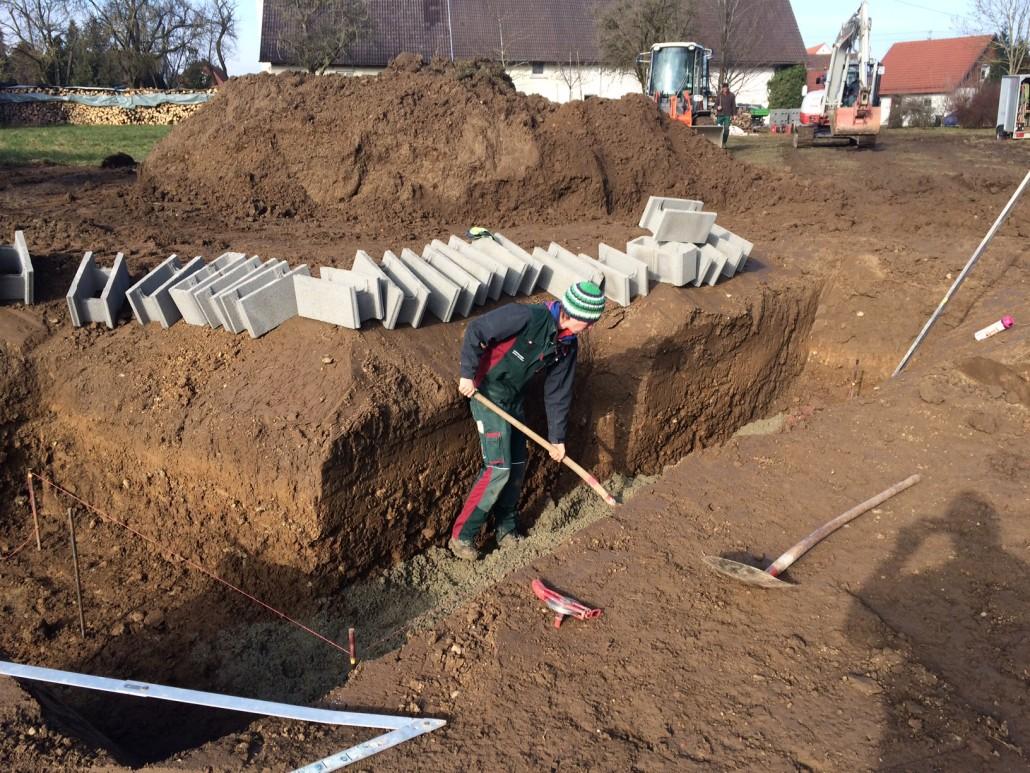 Fuchs Baut Gärten fotogalerie entstehung eines garten mit schwimmteich bei leutkirch