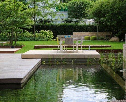 Designer-Gartenterrasse
