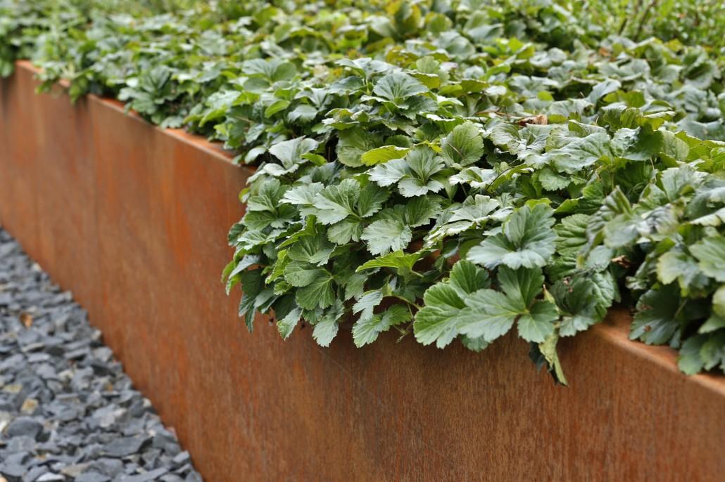 Gestalten mit holz metall naturstein herrhammer g rtner von eden - Gartengestaltung hochbeet ...