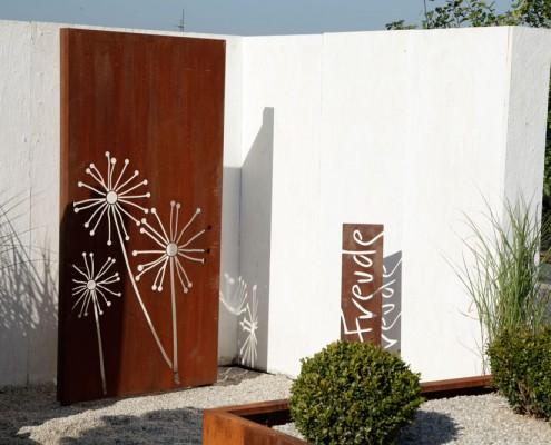 Sichtschutz-Metall-Ornament