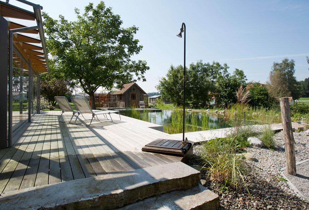 Schwimm badeteiche herrhammer g rtner von eden for Garten pool 2m tief