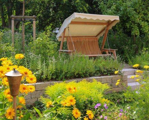Geniessergarten- mit Schaukel