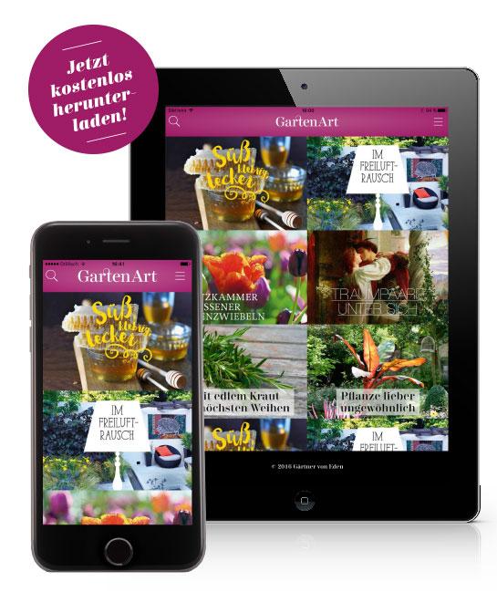 GartenArt App jetzt kostenlos herunter-laden